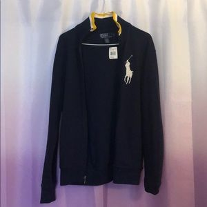 Polo Ralph Lauren Jacket Dark Blue!